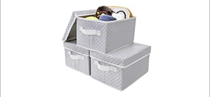 3-Pack Granny Says Storage Bins with Lids from Amazon.com