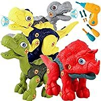 SZJJX Take Apart Dinosaurs Set with Electric Drill from Amazon.com