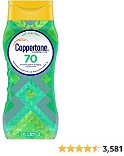 Coppertone Limited Edition ULTRA GUARD SPF 70 Sunscreen Lotion for $4.86