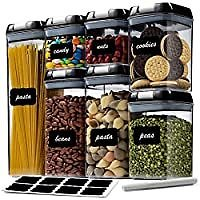 7-Pack Seseno Airtight Food Storage Container Set from Amazon.com