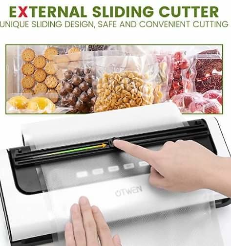 Vacuum Sealer Machine, Automatic Food Sealer with Dry & Moist Food Modes from Amazon.