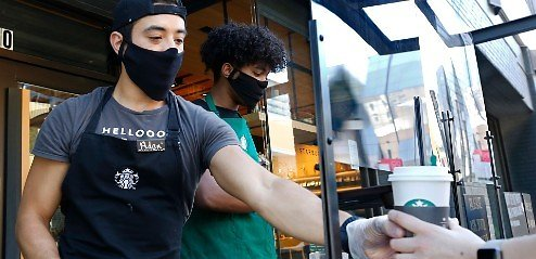 Starbucks Requiring All Customers To Wear Masks