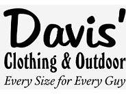 Davis' Clothing and Outdoor Coupons