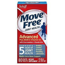 Move Free Advanced Joint Supplement (Ships Free)