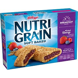 Nutri-Grain Cereal Bars, Mixed Berry, 8-Count Bars, 1.3 Oz (Pack Of 6)