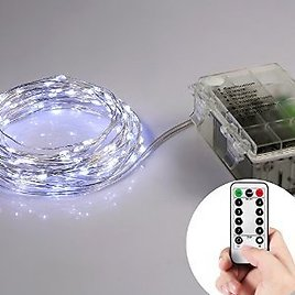 Homestarry Battery Operated Micro LED String Lights