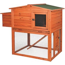 Trixie Pet Products 2-Story Chicken Coop with Outdoor Run