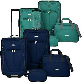 4-Piece Kingsway Luggage Set (2 Colors) + Ships Free!