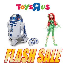 5 Hours Only! Toys R Us Flash Sale + Free Shipping