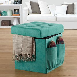 New Low Price! Anthology Sit & Store Folding Ottoman (In-Store)