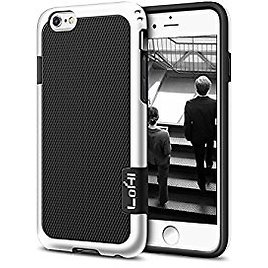 IPhone 6 Case, LoHi 3 Color TPU Rugged Dual Protection Cover Case for IPhone 6s/6 4.7 Inch - Black: Cell Phones & Accessories