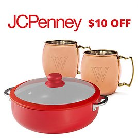 $10 Off $25 JCPenney Coupon & More!