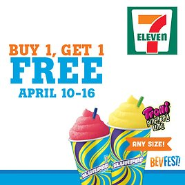 Buy One, Get One Free On Any Size Slurpee