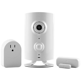 Piper RP1.0BUNDLE-AA Classic All-in-One Security System with Video Monitoring Camera with Door/Window Sensor and Smart Switch