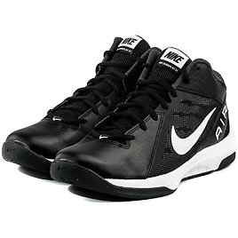 Men's Nike Air Overplay Basketball Shoes (Black)
