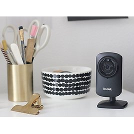 (2 Pack) Kodak CFH-V10 HD Wi-Fi Security Camera with Two-Way Audio, Night Vision & Lifetime Cloud Storage