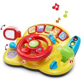 VTech Turn & Learn Driver (Batteries Included!)