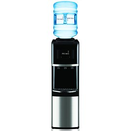 Primo Top-Load Water Dispenser (Stainless Steel/Black)