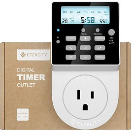 Programmable Light Timer & Surge Protector