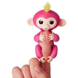 Interactive Baby Monkeys Smart Colorful FingerLings Toy
