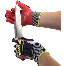 EXTREME SGD - Ironclad KONG Cut and Impact Resistant Gloves With Nitrile Grip Palm - Get The Job Done Without The Cuts and Bruises! VERY Nice Gloves! SEE THE VIDEO! SHIPS FREE!
