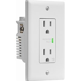 Insignia 2-Outlet In-Wall Surge Protector