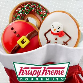Today Only! Free Holiday Doughnut
