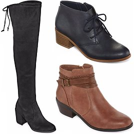 $14.99 Women's Boots | JCPenney