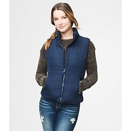 Aeropostale Quilted Vest (8 Colors) + More