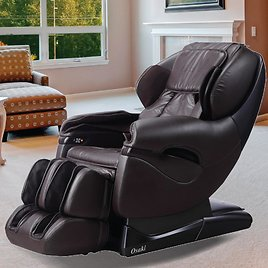 Titan Pro Leather Reclining Massage Chair (2 Colors)