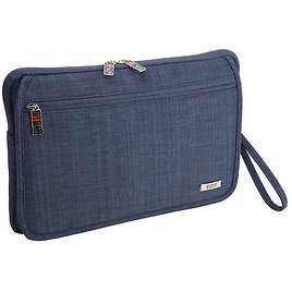 BUBM Sleeve Case with Soft Furry Interior 12.5 Inch and Double Layer Travel Pouch 9.5 Inch -$9.99 (amazon- W/Coupon)
