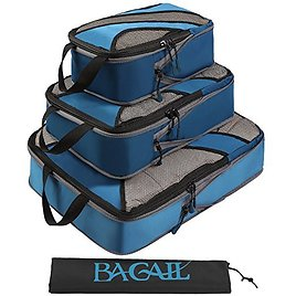 3 Set Compression Packing Cubes Travel Packing Organizers With Laundry Bag At $13.29 + Free Shipping