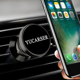 Magnetic Car Phone Mount w/ USB Sorting Function