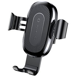 Baseus Wireless Car Charger Air Vent Phone Holder Gravity Car Mount 10W Charge for Samsung Galaxy S8, S7/S7 Edge, Note 8 5 and 5W Standard Charge for IPhone X, 8/8 Plus & Qi Enabled Devices