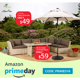 Amazon Prime Day All 16% Off Code: ABBAPA16 Start From $33.59