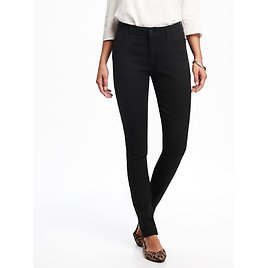 Mid-Rise Super Skinny Jeans for Women (2 Colors)