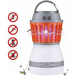 Bug Zapper 2 in 1 Fly Portable Camping Lamp With Insect Killer At $11.99