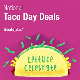 National Taco Day Deals 2018