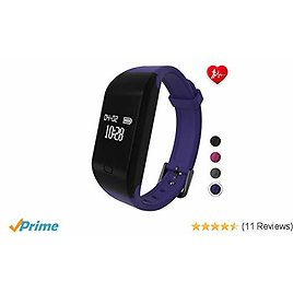 Fitpolo Fitness Tracker Heart Rate Monitor