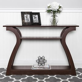 3-Shelf Entryway Console Accent Table (Ships Free)
