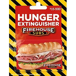 $50 Firehouse Subs Gift Card + Free $10 Amazon Credit
