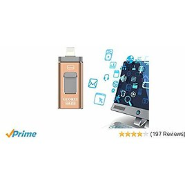 128 GB USB Flash Drive for IPhone At $20.34