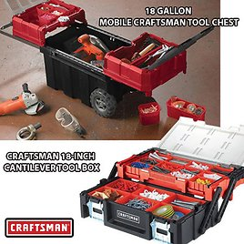 """18"""" Toolbox or Large Rolling Tool Chest"""