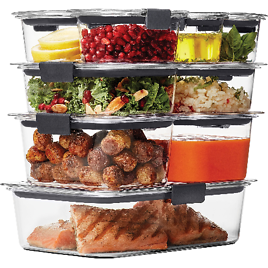 18-Piece Rubbermaid Food Storage Container Set