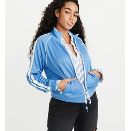 Abercrombie & Fitch Full-Zip Track Jacket