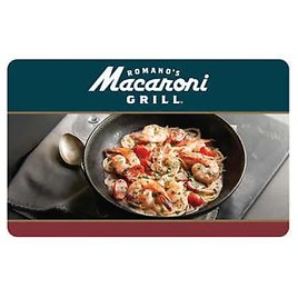 Romano's Macaroni Grill Two $50 Gift Cards