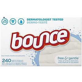 240-Count Bounce Fabric Softener Sheets