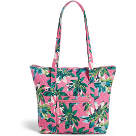 Vera Bradley Factory Style Villager Tote + Ships Free