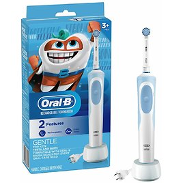 Aguard Tutus Electric Toothbrush Stage1 Soft Toothbrush for Baby and Toddler with LED Light Suitable for 1 to 4 Years Old Mint