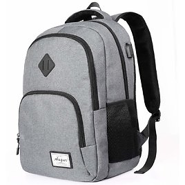 Laptop Backpack with USB Charging Port Fits 15.6 Inch Laptop/Notebook (FREE SHIP)